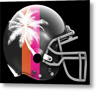 Heat What If Its Football Metal Print