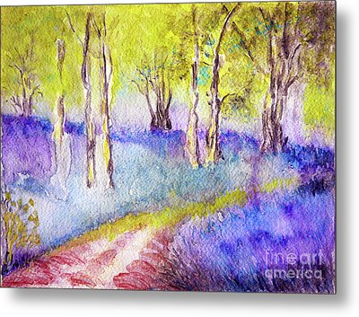 Heather Glade Metal Print by Jasna Dragun