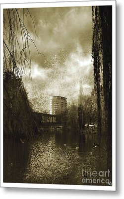 Metal Print featuring the photograph Heaven And Earth  by Fine Art By Andrew David