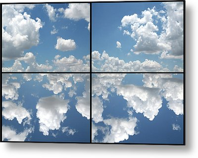 Heaven Metal Print by James W Johnson