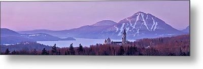 Heavenly Alpenglow Metal Print