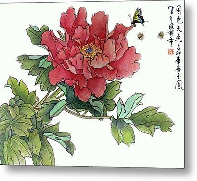 Heavenly Flower Metal Print