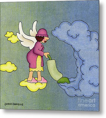 Heavenly Housekeeper Metal Print by Sarah Batalka