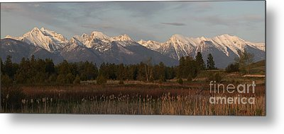 Heavenly Mission Panorama Metal Print
