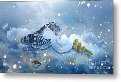 Heavenly Shells Metal Print by Leanne Seymour