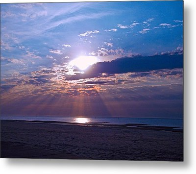 Metal Print featuring the photograph Heavenly Skies by Brian Wright