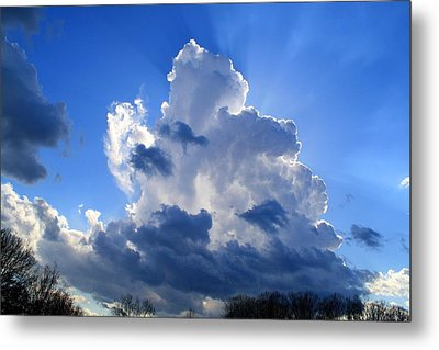 Metal Print featuring the photograph Heavenly Sunlight by Kathryn Meyer