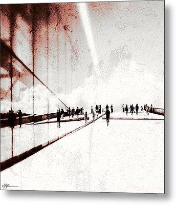 Heavenly Walk In Oslo 1 Metal Print by Marianne Hope
