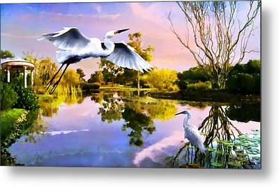 Heavens Lake Metal Print