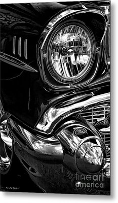 Heavy Chevy Metal Print