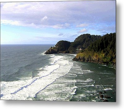 Heceta Head Lighthouse  Metal Print by Will Borden