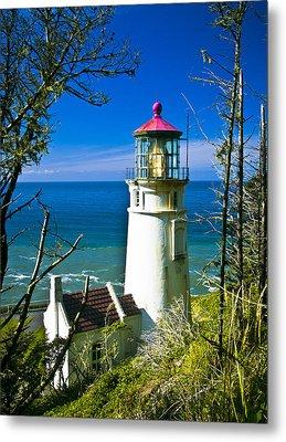 Heceta Lighthouse I Metal Print by Dale Stillman