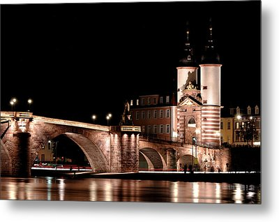 Heidelberg Bridge Metal Print