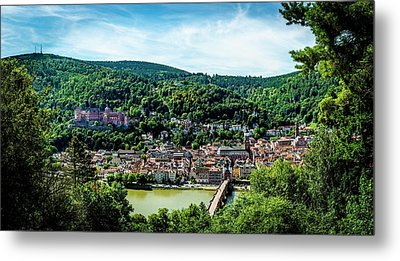 Metal Print featuring the photograph Heidelberg Germany by David Morefield