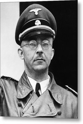 Heinrich Himmler 1900-1945, Nazi Leader Metal Print by Everett