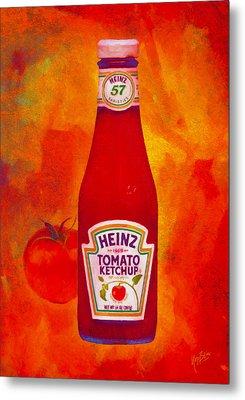 Heinz Tomato Ketchup Metal Print