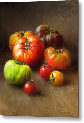 Heirloom Tomatoes Metal Print by Robert Papp