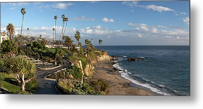 Metal Print featuring the photograph Heisler Park Panoramic by Cliff Wassmann