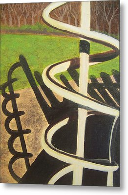 Helix Metal Print by Charlene Cloutier