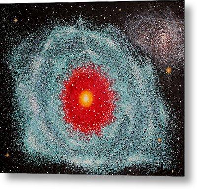 Helix Nebula Metal Print by Georgeta  Blanaru