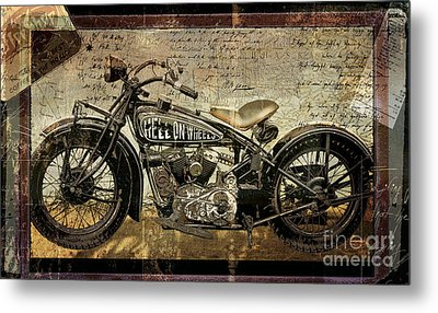 Hell On Wheels Metal Print by Mindy Sommers