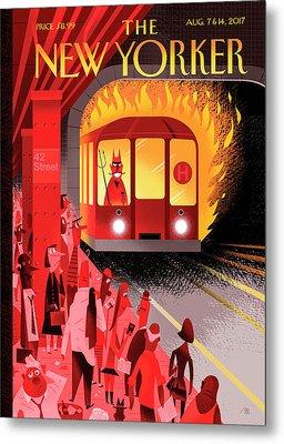 Hell Train Metal Print