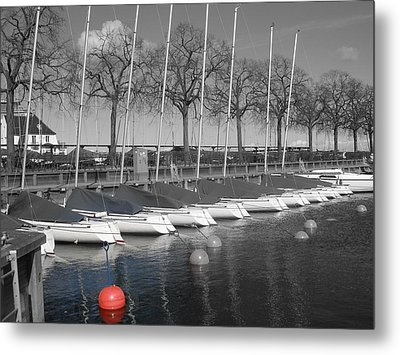 Metal Print featuring the photograph Hellerup Marina by Michael Canning