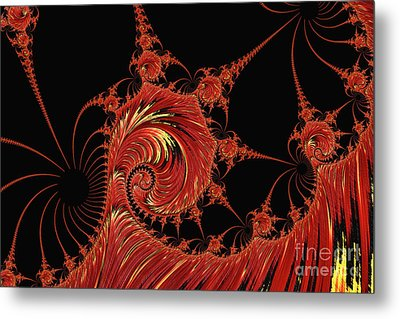 Hellfire Metal Print by Steve Purnell