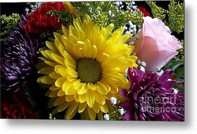 Hello Sunshine Metal Print by Becky Lupe