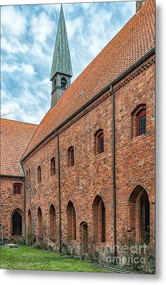 Metal Print featuring the photograph Helsingor Saint Mary Church by Antony McAulay