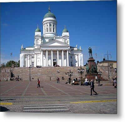 Helsinki Finland-1 Metal Print