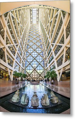 Hennepin County Government Center In Minneapolis Minnesota Metal Print