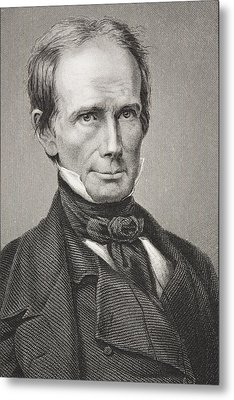 Henry Clay 1777 - 1852. American Metal Print by Vintage Design Pics