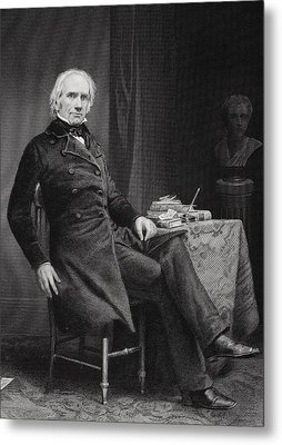 Henry Clay 1777 To 1852. American Metal Print by Vintage Design Pics