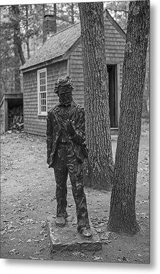 Henry David Thoreau House Walden Pond Concord Ma Metal Print
