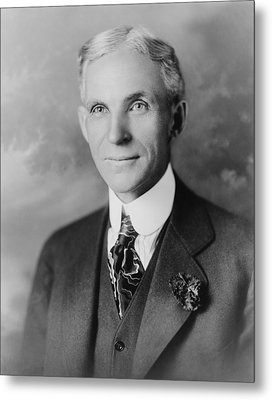 Henry Ford 1963-1947, Founder Of Ford Metal Print