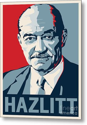 Henry Hazlitt Metal Print