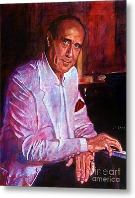 Henry Mancini Metal Print by David Lloyd Glover