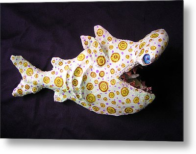 Henry The Hammerhead Metal Print