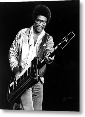 Herbie Hancock, 1980s Metal Print by Everett