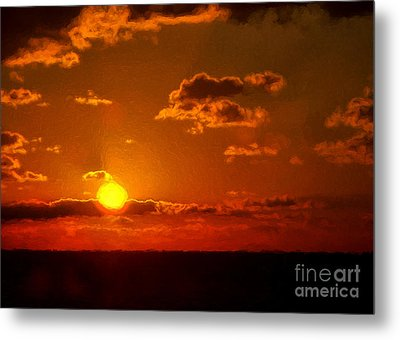 Here Comes The Sun Metal Print by Dave Bosse