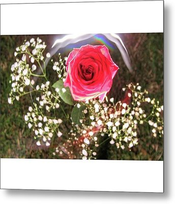 Here's Some Love To Moms!  Happy Metal Print