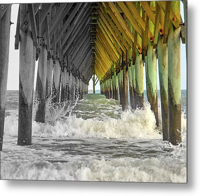 Here's Your Light At The End Of The Tunnel Metal Print
