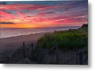 Herring Cove Beach Sunset Metal Print by Bill Wakeley