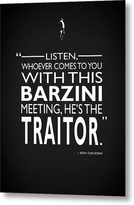 Hes The Traitor Metal Print
