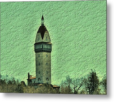 Heublein Tower Metal Print