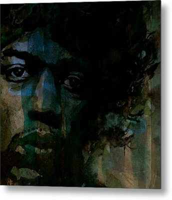 Hey Joe Retro Metal Print by Paul Lovering