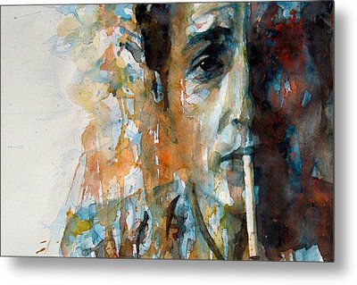 Hey Mr Tambourine Man @ Full Composition Metal Print by Paul Lovering