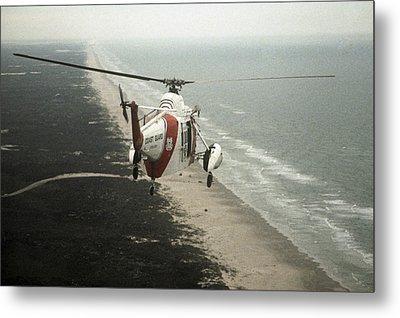 Hh-52a Beach Patrol Metal Print