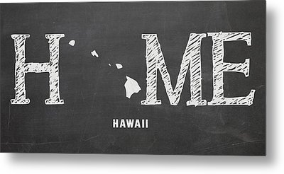 Hi Home Metal Print